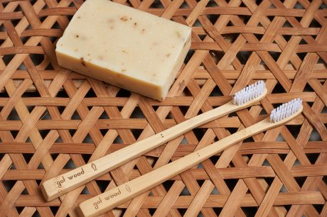 Island Bamboo Toothbrush Set